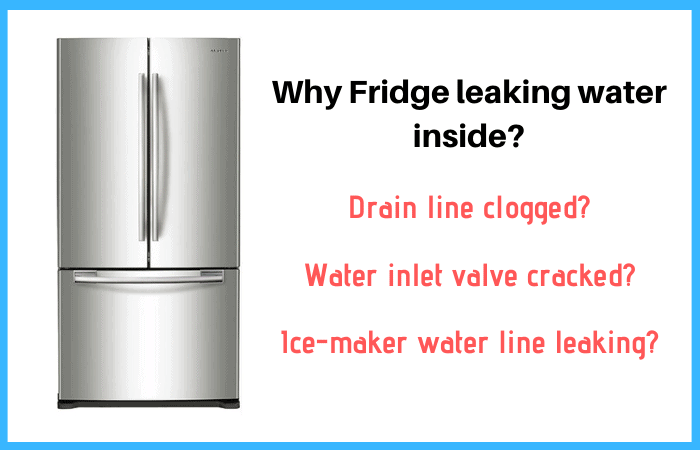 Solved Fridge Leaking Water Inside What Should You Do