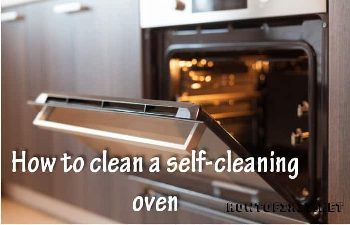 self cleaning oven tips