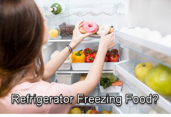 Your Refrigerator Freezing Food? Here is  How To Fix It
