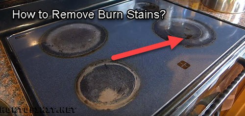 Remove Burn Stains From Stove Top
