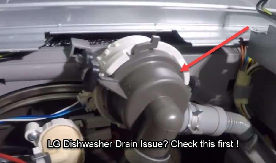 How To Fix E1 Error Code On LG Dishwasher?