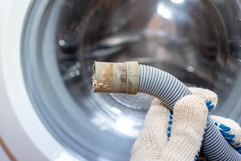 خرابی پمپ تخلیه آب لباسشویی