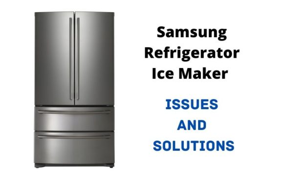 Samsung ice maker not working