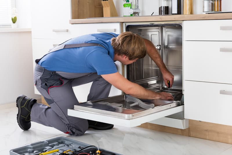 Cost of repair of dishwasher