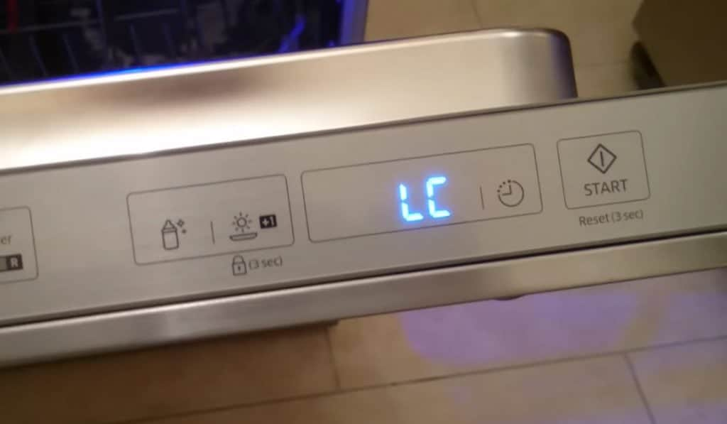 How To Fix Lc Error Code On Samsung Dishwasher