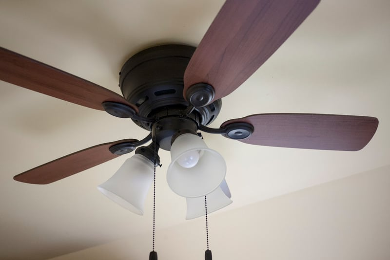 Ceiling fan high pitched noise